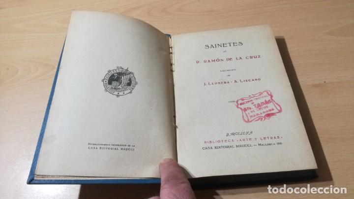 Libros de segunda mano: SAINETES RAMON DE LA CRUZ - TOMO II - MAUCCI 1943M401 - Foto 6 - 194916086