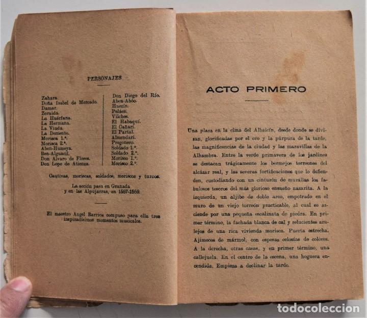 Libros de segunda mano: ABEN-HUMEYA - FRANCISCO VILLAESPESA - BIBLIOTECA SOPENA - Foto 6 - 195021263