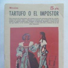 Libros de segunda mano: REVISTA LITERARIA : TARTUFO O EL IMPOSTOR, DE MOLIERE. 1962. Lote 195060073