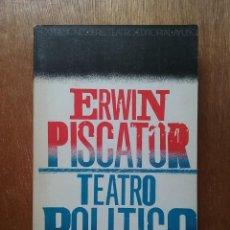 Libros de segunda mano: TEATRO POLITICO, ERWIN PISCATOR, PROLOGO DE ALFONSO SASTRE, EDITORIAL AYUSO, 1976. Lote 237451965