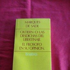 Libros de segunda mano: TEATRO. Lote 195189063