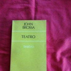 Libros de segunda mano: TEATRO. Lote 195189170