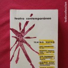 Libros de segunda mano: TEATRO SUECO.TEATRO CONTEMPORÁNEO (AGUILAR, 1967).. Lote 195212810