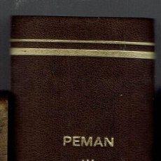 Libros de segunda mano: OCHO OBRAS DE JOSÉ MARÍA PEMÁN. COLECCIÓN TEATRO.. Lote 195251112