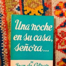 Libros de segunda mano: UNA NOCHE EN SU CASA SEÑORA JEAN DE LETRAZ ALFIL Nº 686 MUY BUEN ESTADO. Lote 195461201