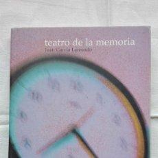 Libros de segunda mano: TEATRO DE LA MEMORIA JUAN GARCÍA LARRONDO FESTIVAL IBEROAMERICANO DE TEATRO DE CÁDIZ 2003. Lote 195471293