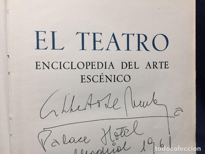 Libros de segunda mano: el teatro autografo - Foto 2 - 195926697