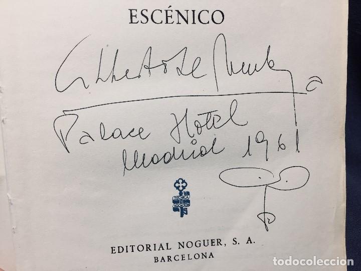 Libros de segunda mano: el teatro autografo - Foto 3 - 195926697