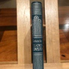 Libros de segunda mano: CRISOL AGUILAR. TERENCIO, TEATRO COMPLETO. 1960.. Lote 196134695