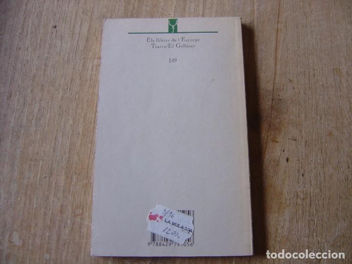 Libros de segunda mano: TESTAMENT. JOSEP M. BENET I JORNET. TEATRE EDICIONS 62. 1ª EDICIÓ 1996 - Foto 5 - 198298905