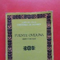 Livres d'occasion: FUENTE OVEJUNA. LOPE DE VEGA. Nº10 4ªED. CLÁSICOS CASTALIA 1983 ED. CASTALIA. Lote 198691285