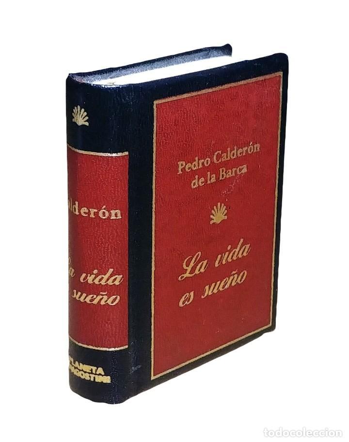 LA VIDA ES SUEÑO / PEDRO CALDERÓN DE LA BARCA. PLANETA DEAGOSTINI, 2002. (LITERATURA EN MINIATURA). (Libros de Segunda Mano (posteriores a 1936) - Literatura - Teatro)