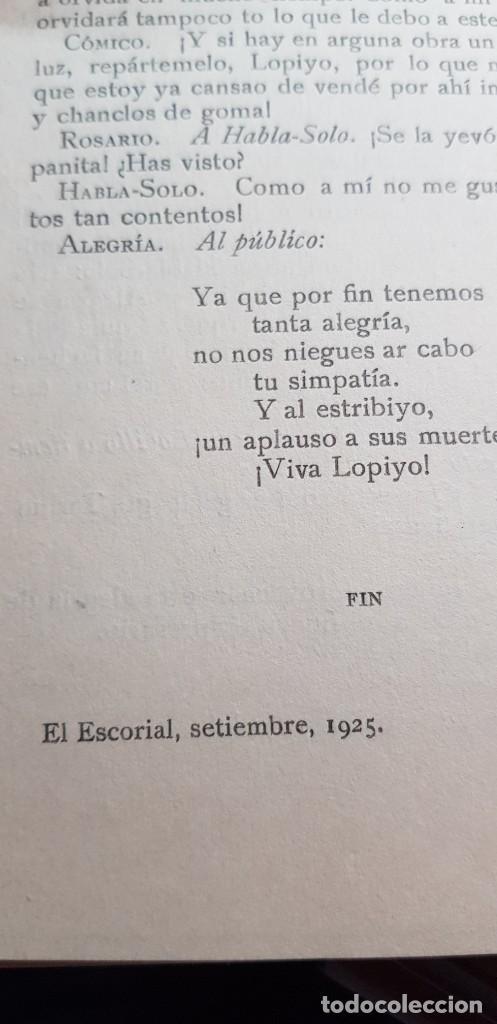 Libros de segunda mano: LAS MUERTES DE LOPILLO. HNOS. QUINTERO SDAD. AUTORES ESPAÑOLESS - Foto 6 - 199860831