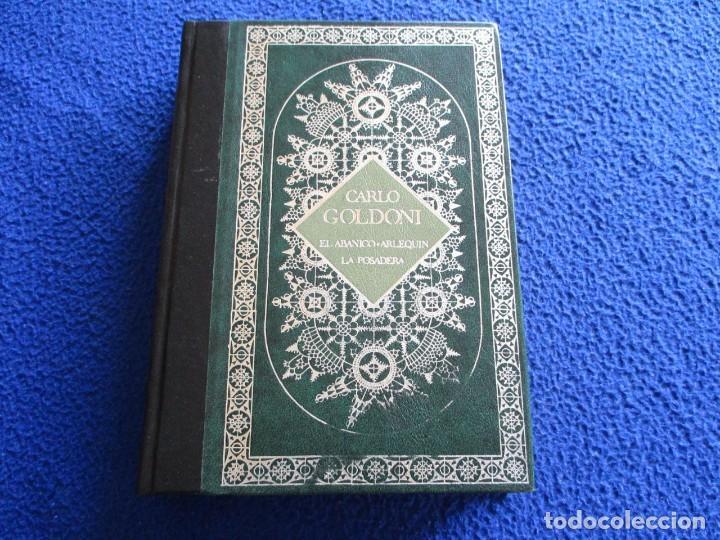 CARLO GOLDONI TEATRO PROMOCION Y EDICIONES 1985 (Libros de Segunda Mano (posteriores a 1936) - Literatura - Teatro)