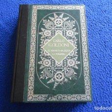 Libros de segunda mano: CARLO GOLDONI TEATRO PROMOCION Y EDICIONES 1985. Lote 200242990