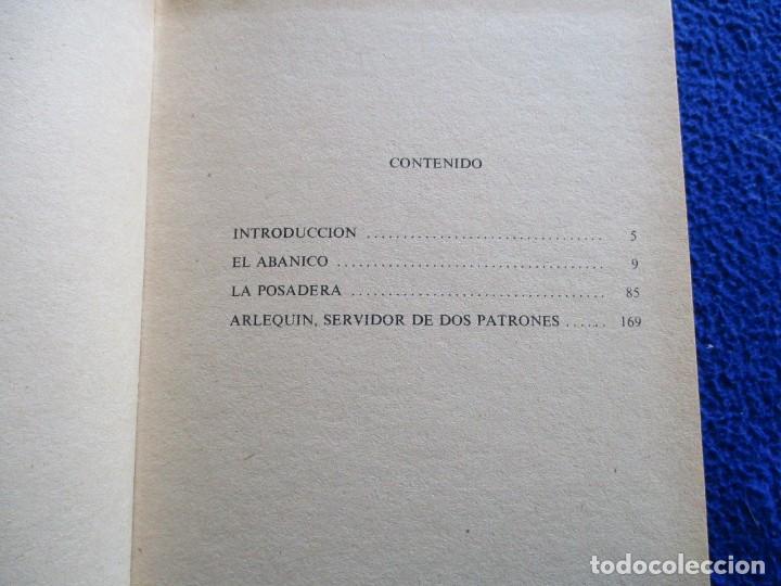 Libros de segunda mano: CARLO GOLDONI Teatro Promocion y Ediciones 1985 - Foto 4 - 200242990