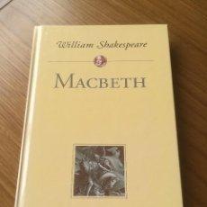 Libros de segunda mano: MACBETH WILLIAM SHAKESPEARE - PLANETA DEAGOSTINI 2000 -. Lote 201293345