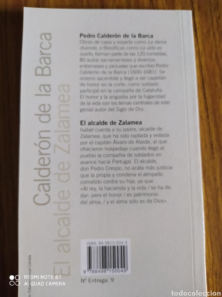 Libros de segunda mano: El alcalde de Zalamea, de Calderón de la Barca. El País (2005) - Foto 2 - 202105238