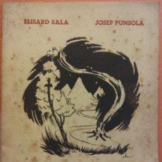 Libros de segunda mano: CANÇONS DE MUNTANYA DE NIT I DE CAMÍ. ELISARD SALA. JOSEP PUNSOLA. AYMA EDITOR. Lote 202567087