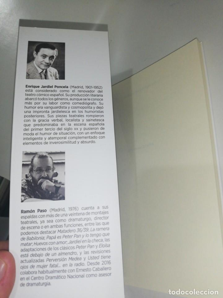 Libros de segunda mano: Enrique JARDIEL PONCELA Y RAMON PASO , USTED TIENE OJOS DE MUJER FATAL... EN LA RADIO - Foto 2 - 203407362