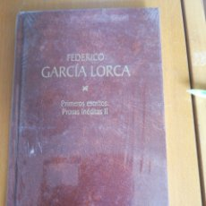 Libros de segunda mano: FEDERICO GARCÍA LORCA. PRIMEROS ESCRITOS PROSAS INÉDITAS IFEDERICO GARCÍA LORCA 1998 IN 4º CARTONE. Lote 205564880