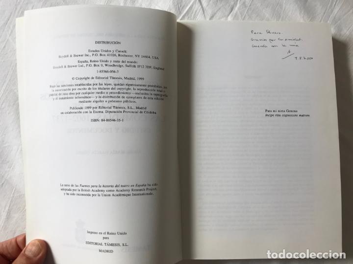 Libros de segunda mano: Actividad teatral en Córdoba y arrendamientos. Ángel Mª García, DIPUTACION DE CORDOBA 1999 - Foto 4 - 205734207