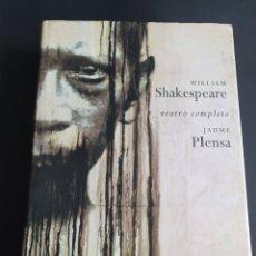 Libros de segunda mano: WILLIAN SHAKESPEARE TEATRO COMPLETO JAUME PLENSA. Lote 206464501