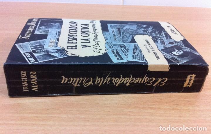 Libros de segunda mano: LIBRO EL ESPECTADOR Y LA CRÍTICA - EL TEATRO EN ESPAÑA EN 1966, POR FRANCISCO ÁLVARO. CERES, 1967 - Foto 2 - 76882079