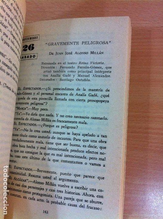 Libros de segunda mano: LIBRO EL ESPECTADOR Y LA CRÍTICA - EL TEATRO EN ESPAÑA EN 1966, POR FRANCISCO ÁLVARO. CERES, 1967 - Foto 7 - 76882079