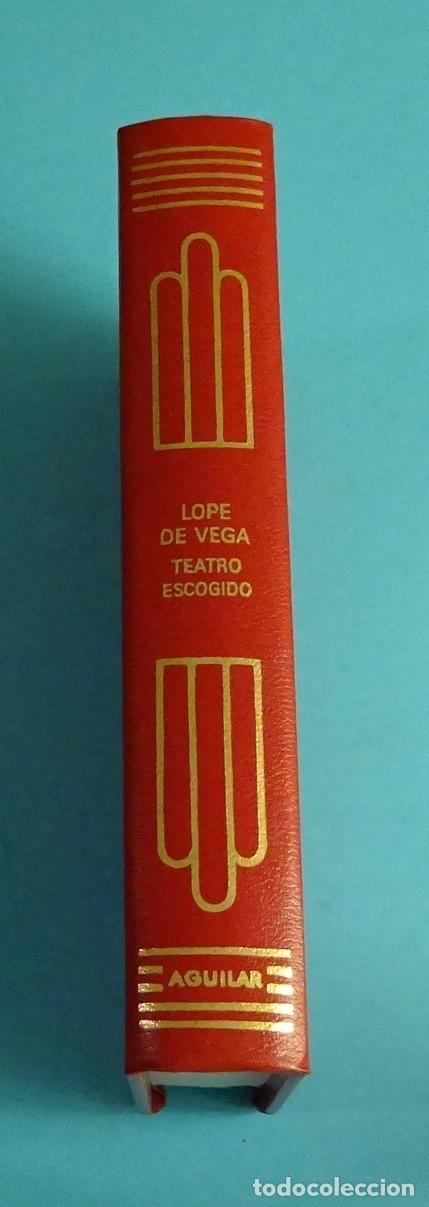 Libros de segunda mano: LOPE DE VEGA. TEATRO ESCOGIDO. COLECCIÓN CRISOL LITERARIO - Foto 2 - 206557540