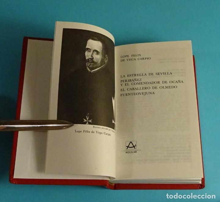 LOPE DE VEGA. TEATRO ESCOGIDO. COLECCIÓN CRISOL LITERARIO (Libros de Segunda Mano (posteriores a 1936) - Literatura - Teatro)