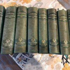 Libros de segunda mano: EDUARDO MARQUINA. OBRAS COMPLETAS 8 TOMOS. ED. AGUILAR.. Lote 228934820