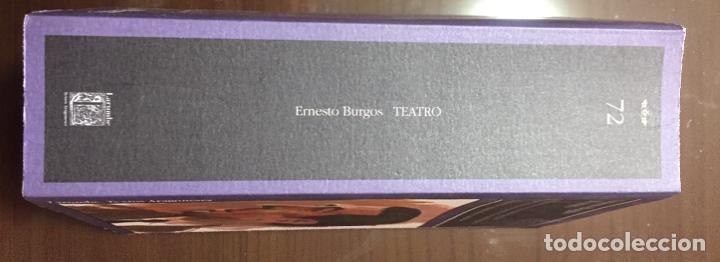 Libros de segunda mano: ERNESTO BURGOS TEATRO Larumbe - Foto 2 - 207094122