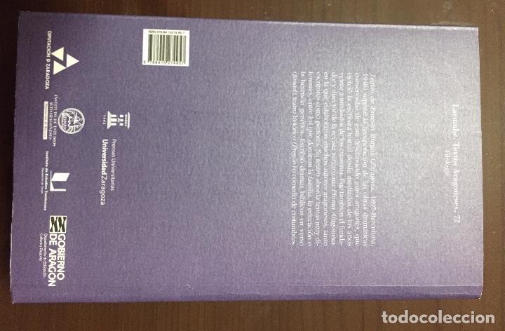 Libros de segunda mano: ERNESTO BURGOS TEATRO Larumbe - Foto 3 - 207094122