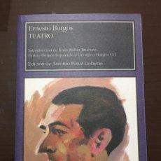 Libros de segunda mano: ERNESTO BURGOS TEATRO LARUMBE. Lote 207094122