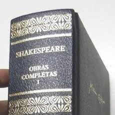 Libros de segunda mano: OBRAS COMPLETAS I. TRAGEDIAS - WILLIAM SHAKESPEARE. Lote 207116587
