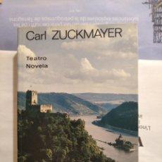 Libros de segunda mano: TEATRO / NOVELA DE CARL ZUCKMAYER. Lote 207532908
