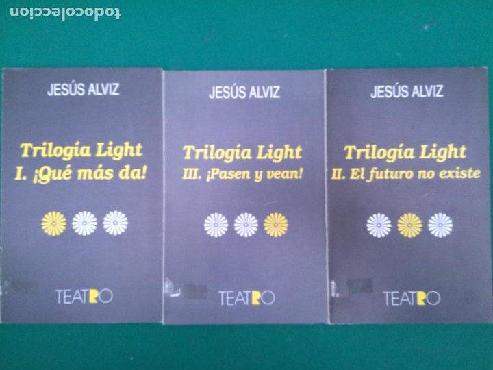 TRILOGIA LIGHT I, II Y III. - JESUS ALVAREZ - ED. REGIONAL DE EXTREMADURA (Libros de Segunda Mano (posteriores a 1936) - Literatura - Teatro)