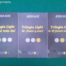 Libros de segunda mano: TRILOGIA LIGHT I, II Y III. - JESUS ALVAREZ - ED. REGIONAL DE EXTREMADURA. Lote 208019482