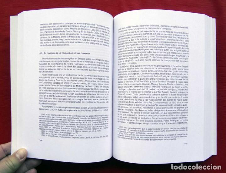 Libros de segunda mano: EL TEATRO EN BURGOS ( 1550 - 1752 ). EL PATIO DE COMEDIAS, LAS COMPAÑÍAS Y LA ACTIVIDAD ESCÉNICA. - Foto 3 - 208146023