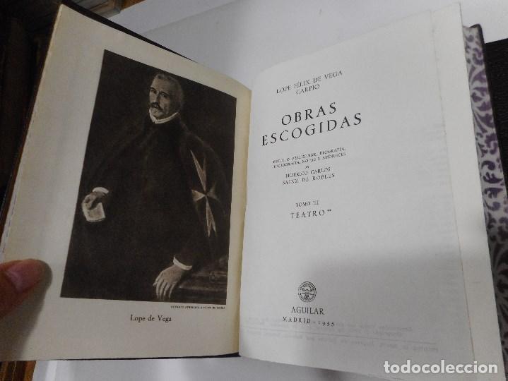 Libros de segunda mano: LOPE DE VEGA Teatro (2 Tomos) Q1120WAM - Foto 3 - 208237445