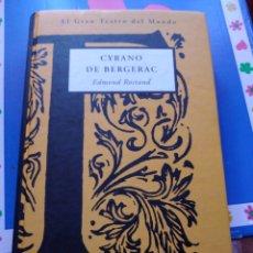 Libros de segunda mano: CYRANO DE BERGERAC EDMOND ROSTAND EL GRAN TEATRO DEL MUNDO ORBIS FABBRI. Lote 208505608