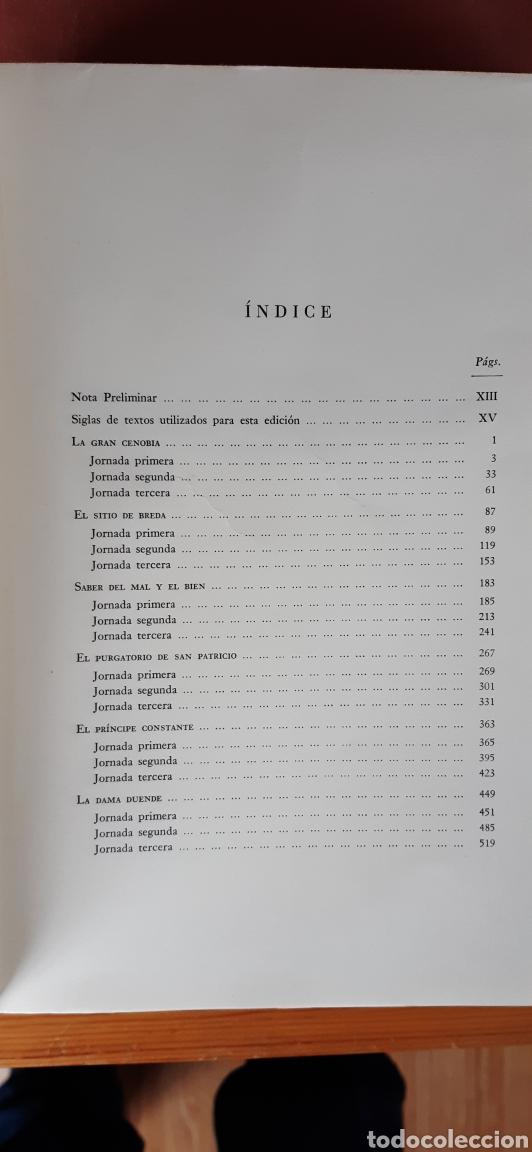 Libros de segunda mano: COMEDIAS DE DON PEDRO CALDERÓN DE LA BARCA 2 VOLS. - 1974 - 1981 - SIN USAR JAMÁS. - Foto 4 - 34263402