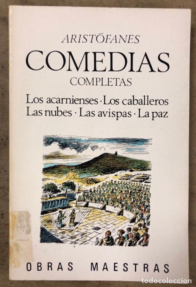 Libros de segunda mano: ARISTÓFANES COMEDIAS COMPLETAS. TOMOS I y II. OBRAS MAESTRAS EDITORIAL IBERIA 1976. - Foto 2 - 209069351