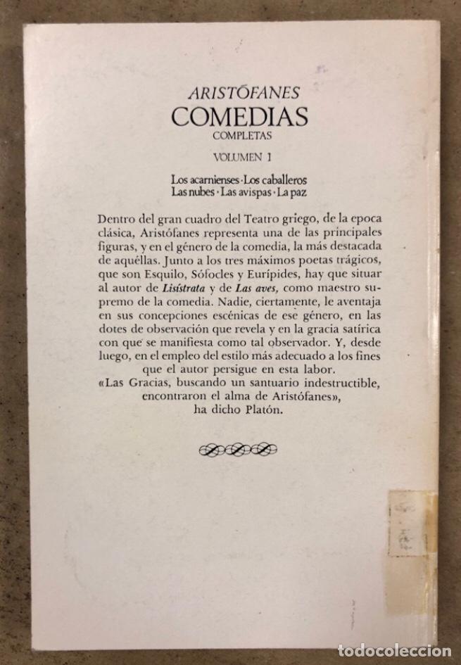 Libros de segunda mano: ARISTÓFANES COMEDIAS COMPLETAS. TOMOS I y II. OBRAS MAESTRAS EDITORIAL IBERIA 1976. - Foto 7 - 209069351