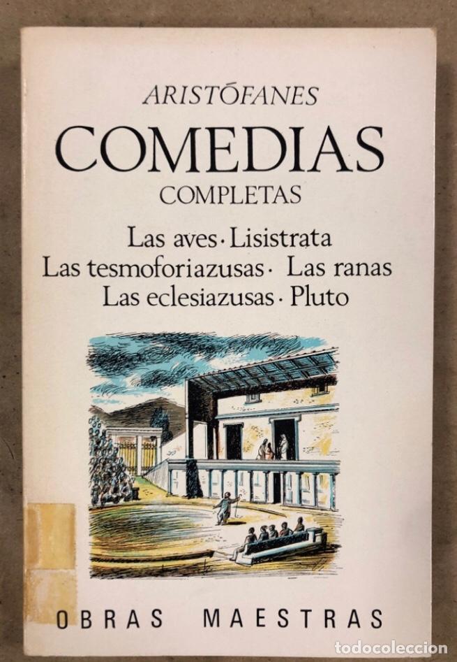 Libros de segunda mano: ARISTÓFANES COMEDIAS COMPLETAS. TOMOS I y II. OBRAS MAESTRAS EDITORIAL IBERIA 1976. - Foto 8 - 209069351