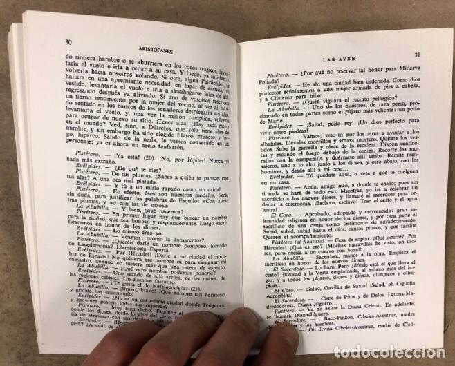 Libros de segunda mano: ARISTÓFANES COMEDIAS COMPLETAS. TOMOS I y II. OBRAS MAESTRAS EDITORIAL IBERIA 1976. - Foto 11 - 209069351