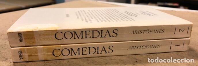 Libros de segunda mano: ARISTÓFANES COMEDIAS COMPLETAS. TOMOS I y II. OBRAS MAESTRAS EDITORIAL IBERIA 1976. - Foto 15 - 209069351