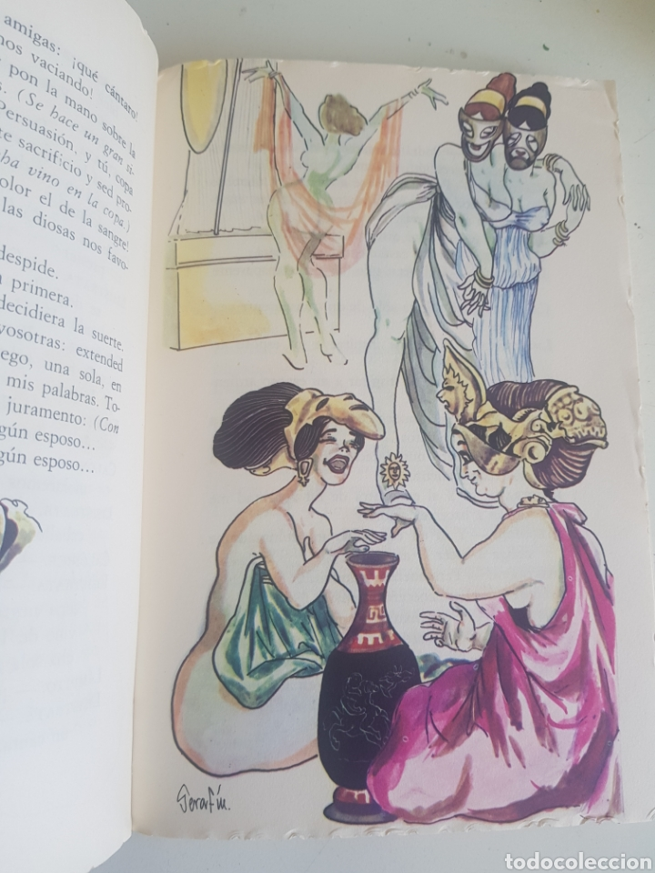 Libros de segunda mano: ARISTOFANES COMEDIAS ILUSTRA SERAFIN - Foto 3 - 209349001