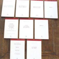 Libros de segunda mano: LA NIT JUST ABANS DELS BOSCOS BERNARD-MARIE KOLTÈS 1993 IMPECABLE 1A ED INSTITUT DEL TEATRE. Lote 209606293